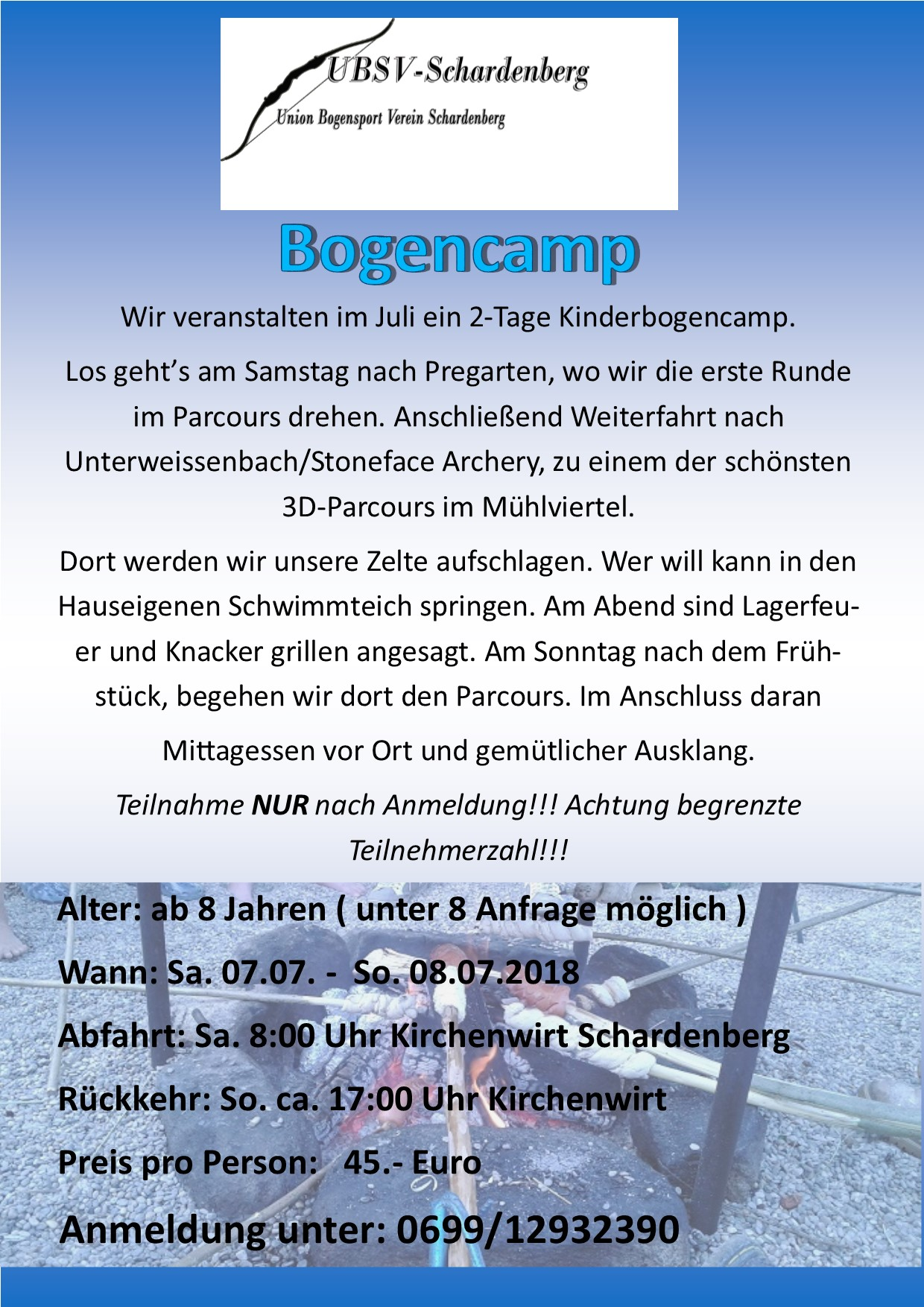 Sommercamp Bow for Kids